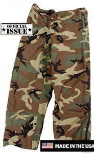 US ARMY WCP ECWCS Goretex Cold Weather Pantalon Woodland Camouflage XLarge Regular