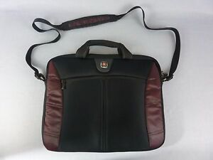 Details About Wenger Swissgear The Angle Laptop Computer Bag Black Fits Most 15