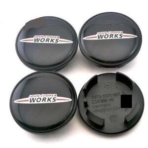 JOHN MINI COOPER WORKS CENTRE CAPS 54MM SET OF 4