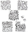 Pack-of-12-Colour-Your-Own-Superhero-Puzzles-Party-Bag-Fillers thumbnail 1
