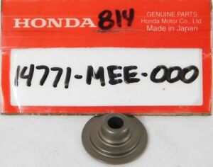 1 NEW Genuine Honda CBR 600 1000 RR Valve Spring Retainer OEM 14771-MEE-000 NOS