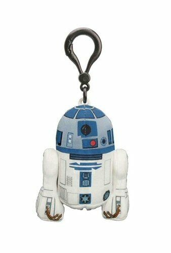 STAR WARS R2-D2 4 TALKING PLUSH WITH CLIP NEW GREAT GIFT