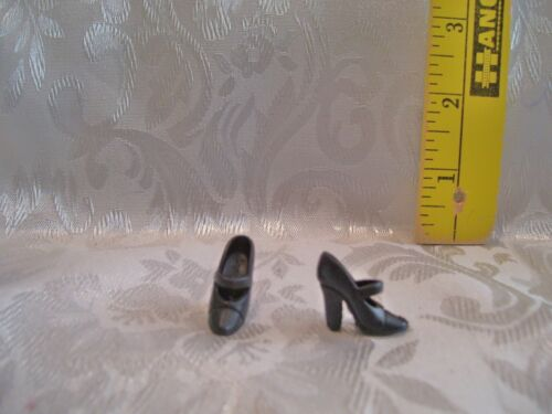 MATTEL FOR BARBIE AND SILKSTONE DOLL BLACK WITCH SHOES NEW CHINA