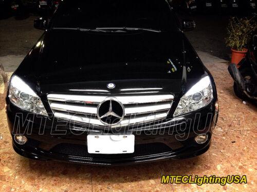 MTEC Maruta 7000K T10 W5W COB LED Parking Light Mercedes Benz W212 E350 E550 E63