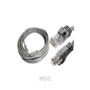 50m cat5e rj45 internet ethernet network lan modem router. Black Bedroom Furniture Sets. Home Design Ideas
