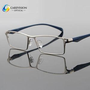 7535788385 Image is loading Men-Fashion-Titanium-Full-Rim-Myopia-Eyeglasses-Frames-