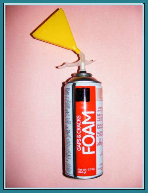 AFINA VFN ORIGINAL REUSABLE Vertical Foam Nozzle Spray Applicator TV House DIY