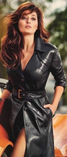 Women's Ladies Dress Casual Party wear Stylish Lambskin Leather Dresses 103