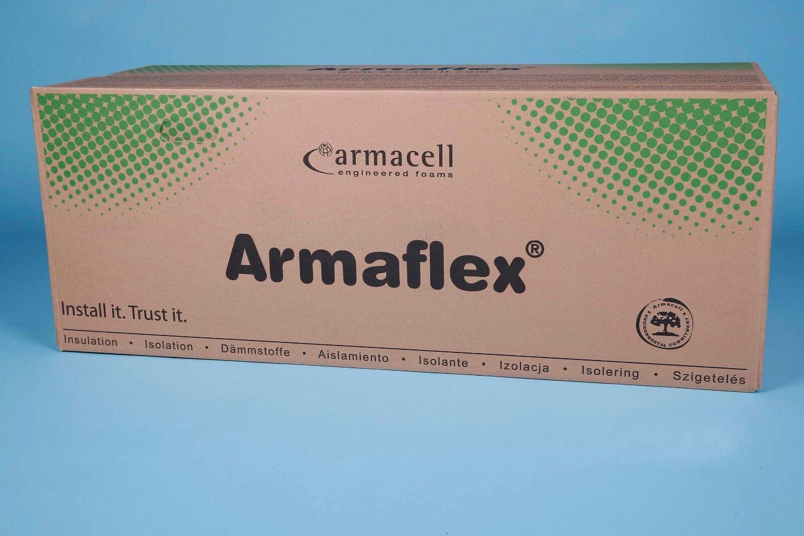 8 m²/13 mm ARMAFLEX AF/EA selbstkl. Isolierung Kautschuk Platten Dämmung Caravan