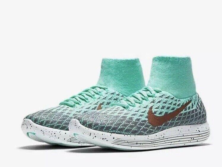 Nike lunarepic Flyknit Bouclier Chaussure de course 849665-300 Taille UK 6 EU 40 US 8.5 NEW