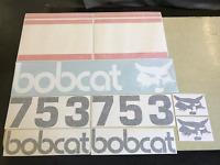 Bobcat 753 Decals