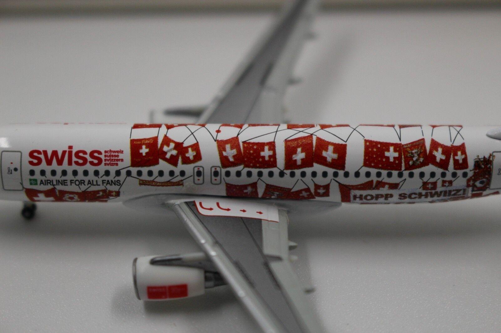 HERPA WINGS 1 400 Swiss International Air Lines Airbus a320 Hop Suisse (562027)