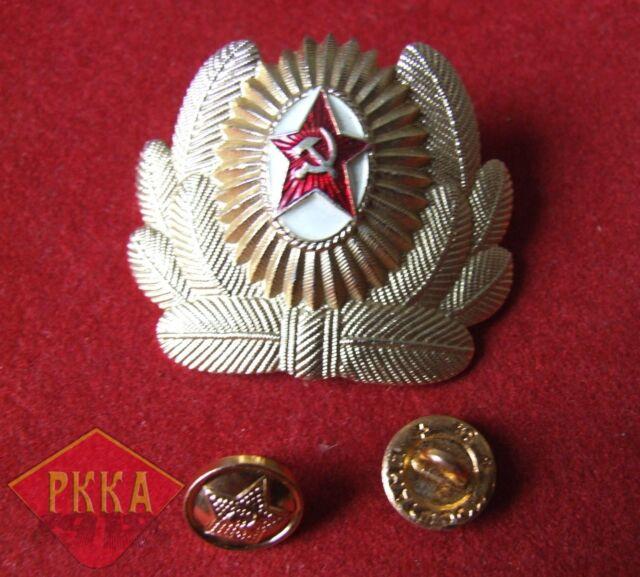 Sowjet Armee Große Kokarde Offizier Sowjetunion UdSSR Rote Armee Uniform Stern 2