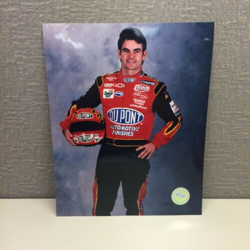 Jeff Gordon 2001 Racing Reflections 8x10 High Glossy Picture