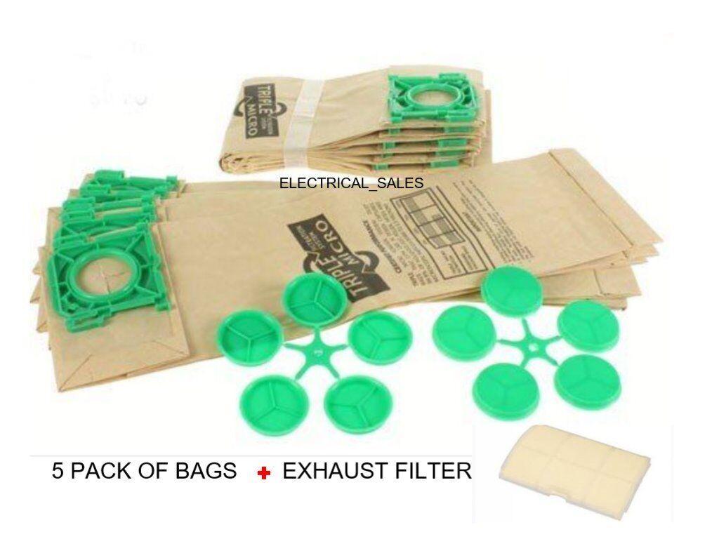 Véritable SEBO Automatique X Airbelt C Ultra Sacs X//C//370 X1 X4 X4 XP2 XP3 5093ER