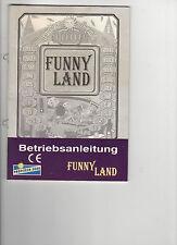 Gebrauchsanweisung Gauselmann Funny Land