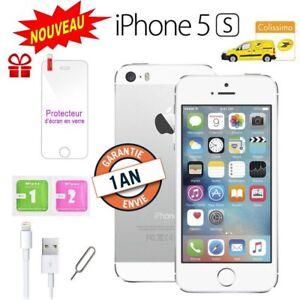 Neuf-Apple-iPhone-5s-16go-16GB-unlocked-DEBLOQUE-Telephones-Mobile-Argent-FR