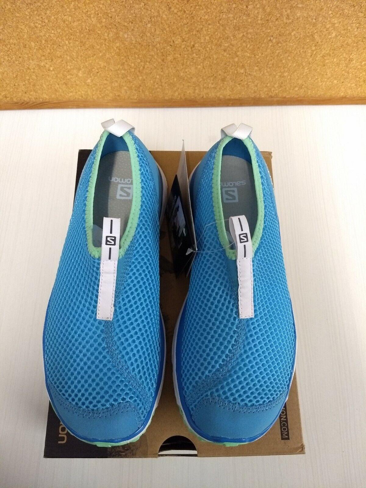 Nuevas zapatillas para mujer Salomon Rx Moc LDS Línea Azul  3 EE. UU. 7