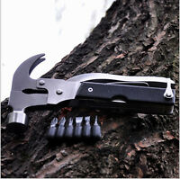 Hot Outdoor Camping Emergency Survival Tools Axe Hatchet Hammer Multi-function