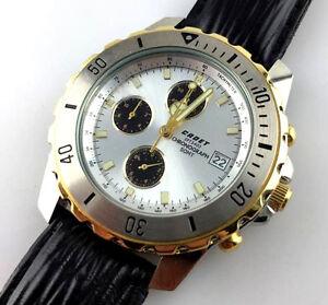 2851935027 Chronostar Chronograph Armbanduhr Armbanduhren Suche Nach FlüGen Armbanduhr Cadet Mod.spt 3400 Ref