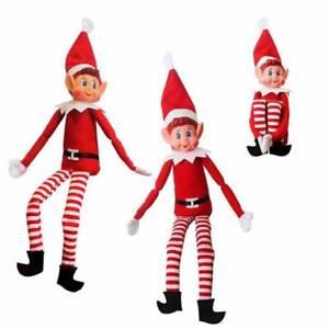 Verkauf-Naughty-Boy-Elf-Elfen-Behaving-Schwer-Weihnachten-Ablagefach-Requisite