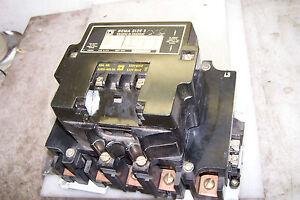 Details about SQUARE D 8810 SEO12 MOTOR STARTER SIZE 3 LIGHTING CONTACTOR  COIL 120 V 8810SE012