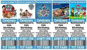 PAW-PATROL-Personalised-Ticket-Style-Birthday-Invitations