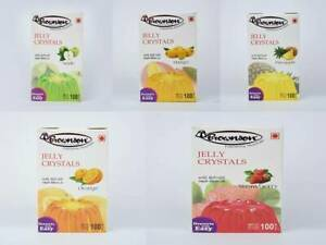 BROWNSON-JELLY-CRYSTALS-HALAL-Vegetarian-Instant-Set-Many-Flavours-100g