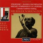 Divertimento KV 136/Sinfonie KV 551/Danses concer. von Norrington,Cam.Salzburg (2001)