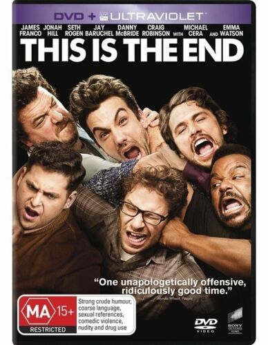 1 of 1 - This Is The End Region 4 DVD, 2013 New & Sealed UV code may have expired