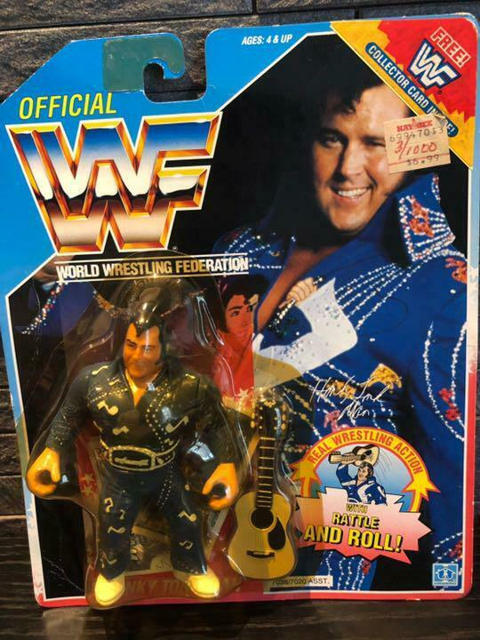 Hasbro WWF Wrestling HONKY TONK MAN RATTLE AND ROLL Figure Unopend  11882