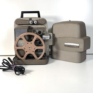 Vintage Bell & Howell 245 PA Autoload Home Movie Projector 8mm-Film *Working*
