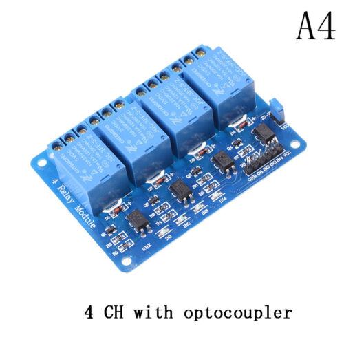 5V 1//2//4//8 Kanal Relais Board Modul Optokoppler LED für Arduino PiC ARM AVR n CL