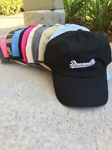 8c758f90 Image is loading Dreamville-EMBROIDERED-Custom-Unstructured-Dad-Hat-Cap-J-