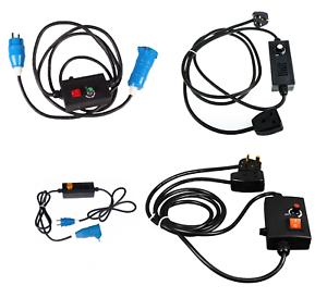 Dimmer Switch 1000-2000W Mains Socket Halogen Filament Lamp Light Switch UK EU