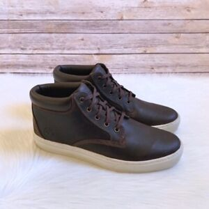 Timberland A12fq Men's Dauset Cup Hiker Hiking Brown Leather Chukka Boots Shoes