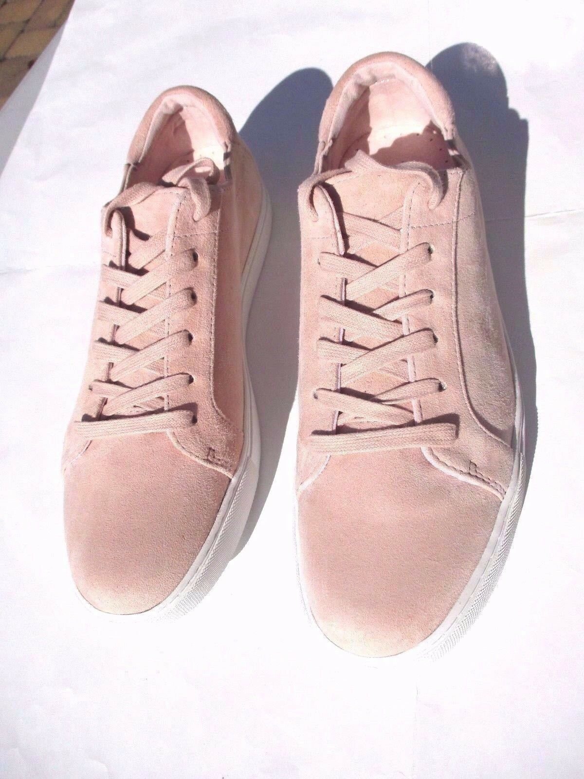 NWOT Kenneth Cole Farbe New York Kam Suede Sneakers Rose Farbe Cole Sz 10M c3f3c3