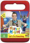 Mister Maker - Let's Try Something (DVD, 2012)