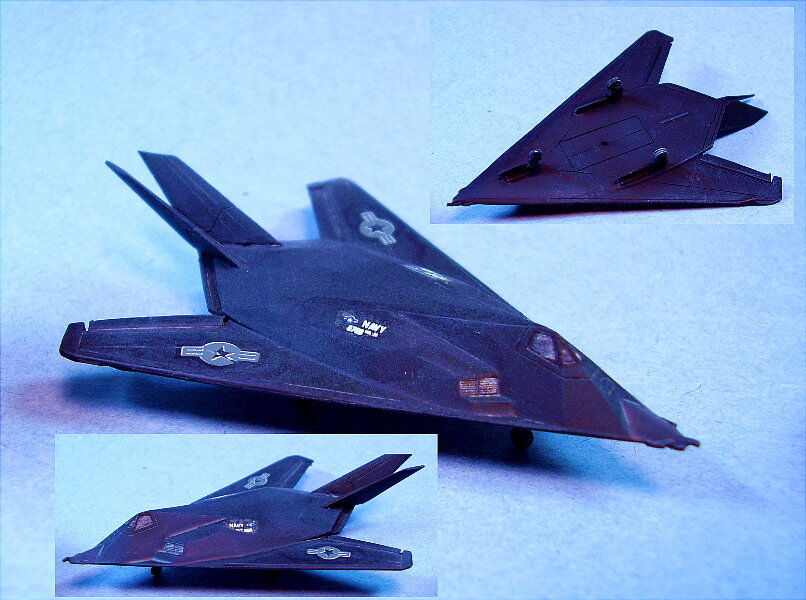 GHQ Skytrex miniatures suitable for Battletech Stealth Fighter