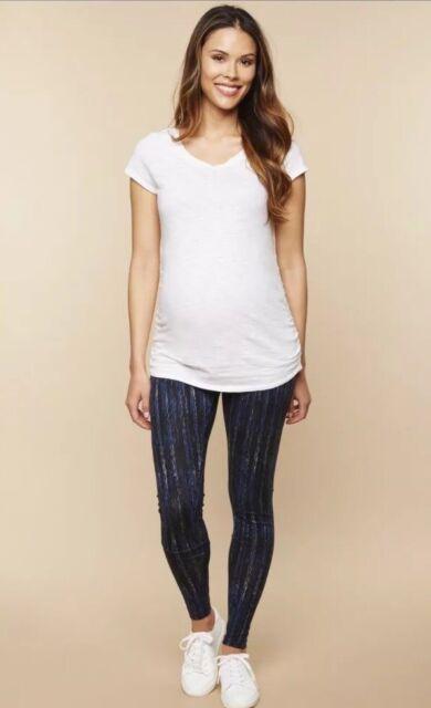 c76b965cf4f4a1 Motherhood Maternity Leggings Small Secret Fit Belly Panel for sale ...