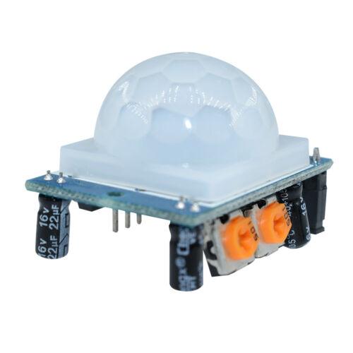 HC-SR501 Adjust IR Pyroelectric Infrared PIR Motion Sensor Detector Module UK