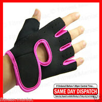 Women Weight Lifting Gloves Ladies Fitness Glove Gym Workout Pink M/l Pro