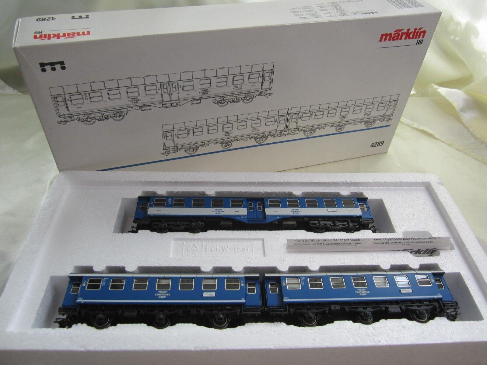 2210-15  marklin h0 4289 Wagenset Tegernsee ferroviario ferroviario ferroviario c06cd4