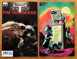 Death of Inhumans 3  Young Guns Connecting Variant Cates 2018 NM+