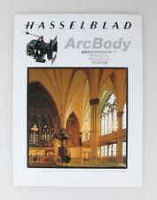 HASSELBLAD ARC BODY BROCHURE