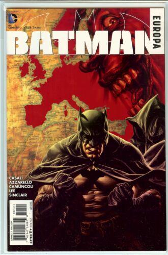 1 in 25 Variant NM Batman Europa #1 Lee Bermejo 1:25