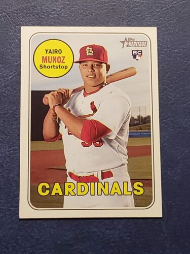 2018 Topps Heritage High Numbers Series # Rookies You Pick From List. 501-700