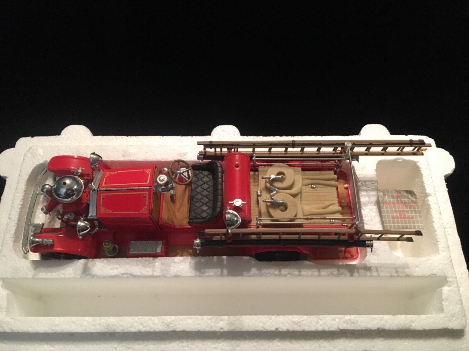 AHRENS 1922 FOX R-K-4 Pumper Fire Engine - Franklin Mint