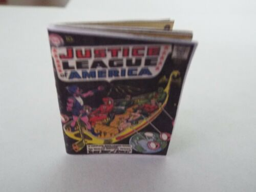 /'JUSTICE LEAGUE of AMERICA/' Comic Barbie GI Joe 1:6 scale OPENING printed PAGES