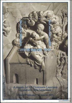 kompl.ausg. Postfrisch 1995 Maria Mit Kind Treu Vatikanstadt Block15